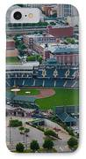 Bricktown Ballpark D IPhone Case by Cooper Ross