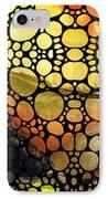 Bridging The Gap - Stone Rock'd Art Print IPhone Case by Sharon Cummings