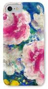Brightly Floral IPhone Case by Susan Leggett