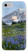 Brilliant Meadow IPhone Case by Mike Reid