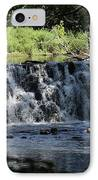 Bronx River Waterfall IPhone Case by John Telfer