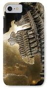 Bronze Abstract IPhone Case