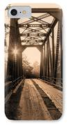 Brooklyn Bridge 3 IPhone Case by JC Findley