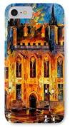 Bruges IPhone Case by Leonid Afremov