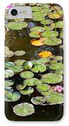 Bruges Lily Pond IPhone Case by Carol Groenen