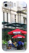 Bryant Park At Noon IPhone Case by Dora Sofia Caputo Photographic Art and Design