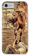Bucking IPhone Case by Caitlyn  Grasso