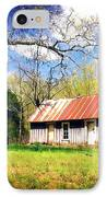 Buffalo River Homestead IPhone Case by Marty Koch