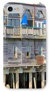 Building On Piles Above Water IPhone Case by Lorna Maza