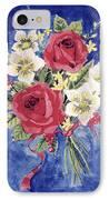 Bunch Of Flowers IPhone Case by Alban Dizdari