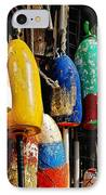 Buoys From Russell's Lobsters IPhone Case