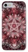 Burgundy IPhone Case by Sandy Keeton