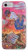 Burnin' It Up IPhone Case by Robert Ponzio