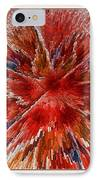 Burning Passion Of Love IPhone Case by Deborah Benoit