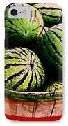 Bushel Full Of Melons IPhone Case