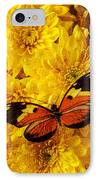 Butterfly Abstract IPhone Case by Garry Gay