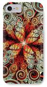 Butterfly And Bubbles IPhone Case by Anastasiya Malakhova