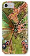 Butterfly Mosaic 03 Elena Yakubovich IPhone Case by Elena Yakubovich