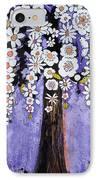 Butterfly Tree IPhone Case by Blenda Studio