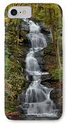Buttermilk Falls In Autumn IPhone Case by Stephen  Vecchiotti