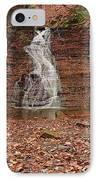 Buttermilk Falls IPhone Case by Marcia Colelli