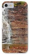 Buttermilk Waterfall IPhone Case by Marcia Colelli