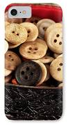 Button Treasures IPhone Case