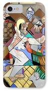 By My Wounds You Were Healed IPhone Case by Anthony Falbo