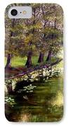 By The  Lake IPhone Case