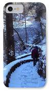 By The River 2 IPhone Case by Cynthia Harvey