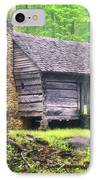 Cabin In The Smokies IPhone Case