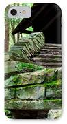 Cabin Staircase - Buttermilk Falls IPhone Case