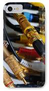 Cables And Wires IPhone Case by Amy Cicconi