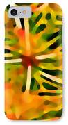 Cactus Pattern 3 Yellow IPhone Case by Amy Vangsgard