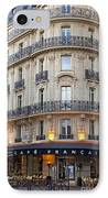 Cafe Francais IPhone Case by Brian Jannsen