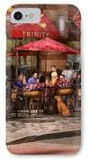 Cafe - Hoboken Nj - Cafe Trinity  IPhone Case