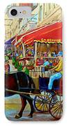 Cafe La Grande Terrasse IPhone Case