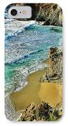 Californa Shore IPhone Case by Benjamin Yeager