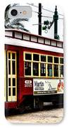 Canal Street Car IPhone Case by Bill Cannon