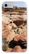 Canyon De Chelly - Land Of Standing Rock IPhone Case by Christine Till