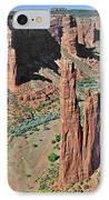 Canyon De Chelly - Spider Rock IPhone Case