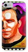 Captain James T Kirk IPhone Case