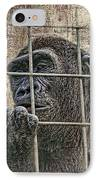 Captivity IPhone Case by Tom Mc Nemar