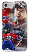 Carey Price IPhone Case by Mike Oulton