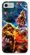 Carina Pillar IPhone Case by Benjamin Yeager