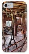 Carpenter - This Old Shop IPhone Case by Mike Savad