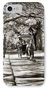 Carriage Ride In Charleston IPhone Case