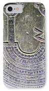 Carving Like Cleopatra's Necklace In A Crypt In Temple Of Hathor Near Dendera-egypt IPhone Case by Ruth Hager