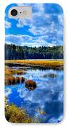 Cary Lake Near Old Forge New York IPhone Case by David Patterson