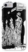 Caryatids In High Contrast IPhone Case